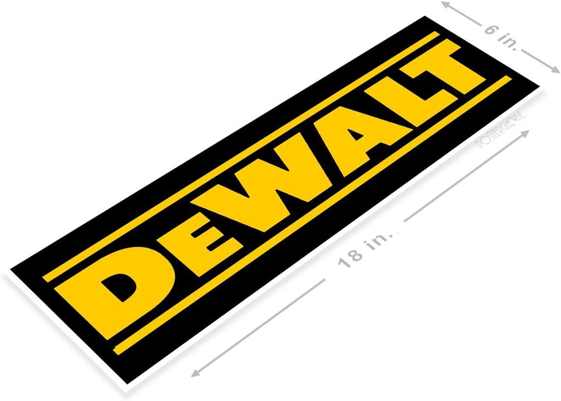 """Poster B074 Dewalt Power Tools Store Sign Toolbox Garage Auto Shop Cave 6"""" x 18"""""""
