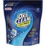 oxy clean detergent pods - OxiClean High Def Clean Sparkling Fresh Laundry Detergent Paks, 27 Count