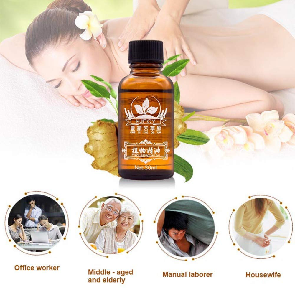 Amazon.com : New Natural Plant Aromatherapy Massage Oil Spa Massage Therapy  Body Massage Essential Oils - Help Relax Body Relief Pressure - 30 ml :  Beauty