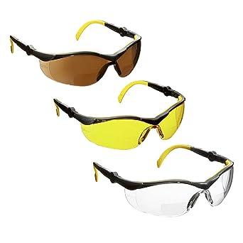 3ebf8280cb Gafas de seguridad bifocales de voltX GT, color transparente, transparente