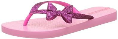 1203aa9d4104 Ipanema Kids Lolita Bow Girls Flip Flops Sandals-Fuchsia-4