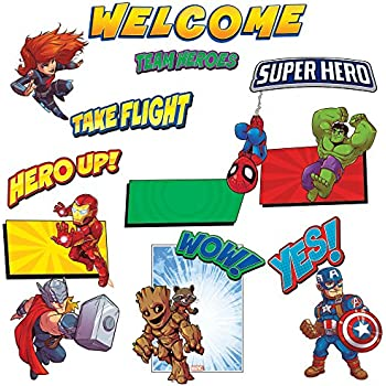 Amazon Com Teacher Created Resources Superhero Bulletin