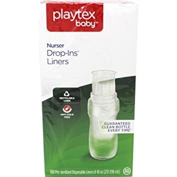 Baby Bottles Baby Cheap Price Playtex 4oz Disposable Bottles Pre Sterilized 50 Bottles Per Box Lot Of 3 Boxes