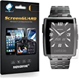 3 x Membrane Screen Protectors for Pebble Steel - Crystal Clear (Glossy), Retail Package, Installation Kit