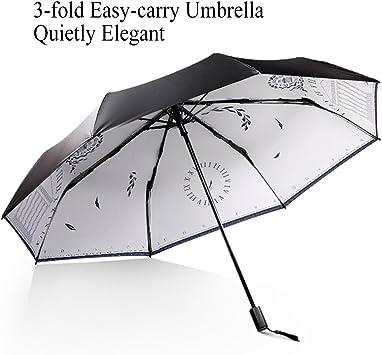 Portable Ultra Light Umbrella Rain Compact Folding UV Sun Windproof Travel Small