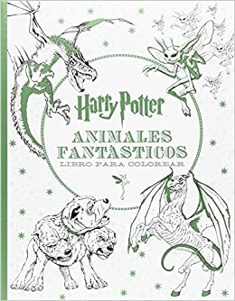 HARRY POTTER ANIMALES FANTÁSTICOS LIBRO PARA COLOREAR: Amazon.es
