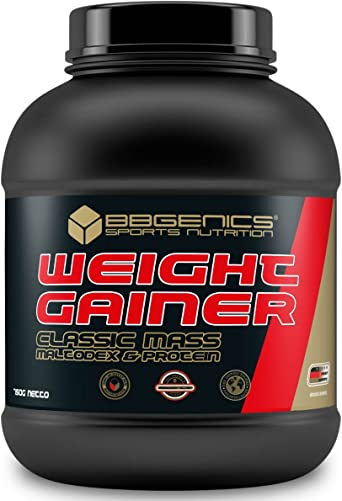 BBGENICS Deutschland - Weight Gainer Classic, Mezcla de carbohidratos y proteínas, 750 g chocolat