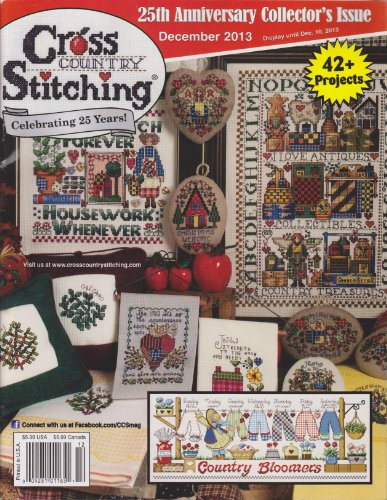 (Country Cross Stitching Magazine December 2013)