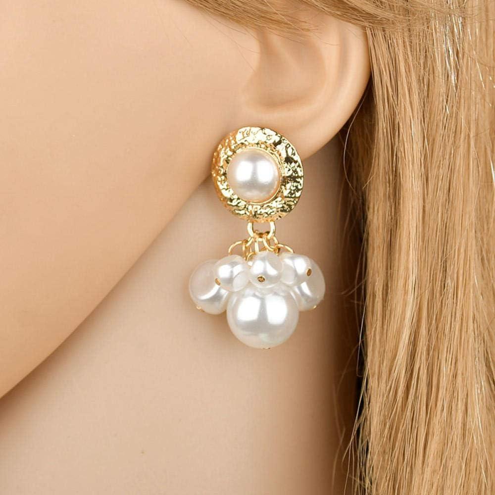 Erin Earring Pendientes De Perlas Barrocas Largas Naturales para Mujer Regalo De Fiesta De Joyería Hecha A Mano Gris Blanco