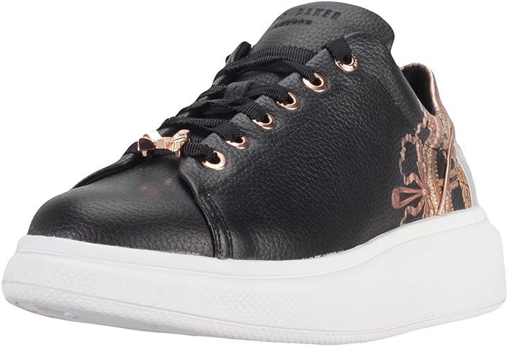 Ted Baker Damen Ailbe Sneaker, Black