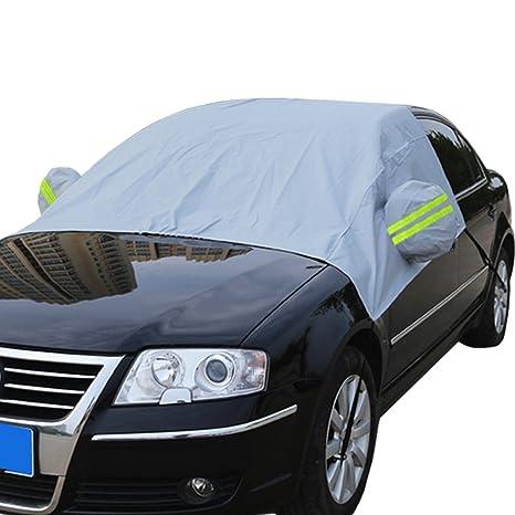 Parabrisas cubierta de nieve coche protección parasol polvo hielo Frost prueba de viento limpiaparabrisas pantalla con