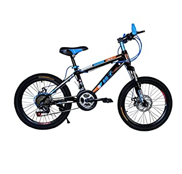 MASLEID bicicleta de montaña de 20 pulgadas para niños y niñas , black