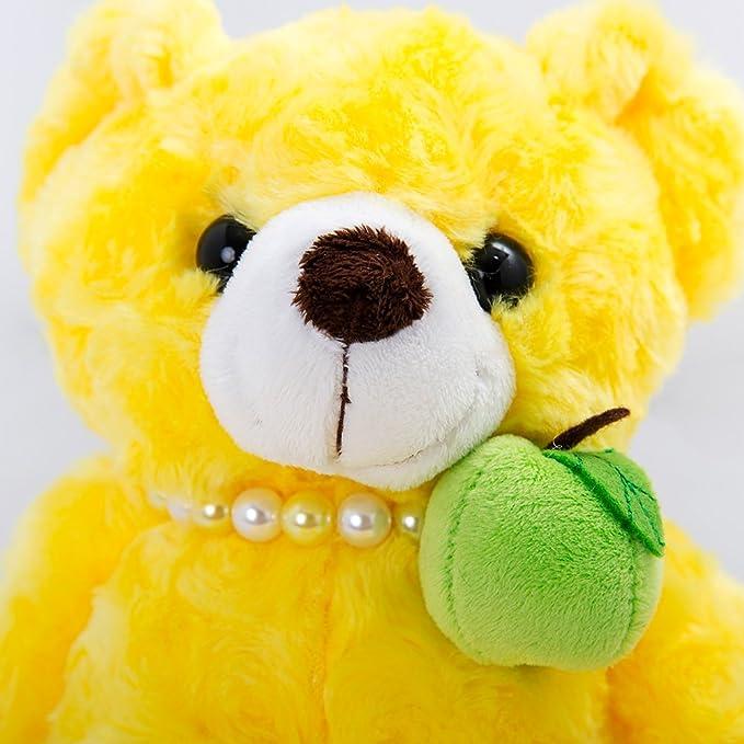 Juguete de peluche de Vobell amarillo Animal pera oso de peluche de 19 pulgadas: Amazon.es: Juguetes y juegos