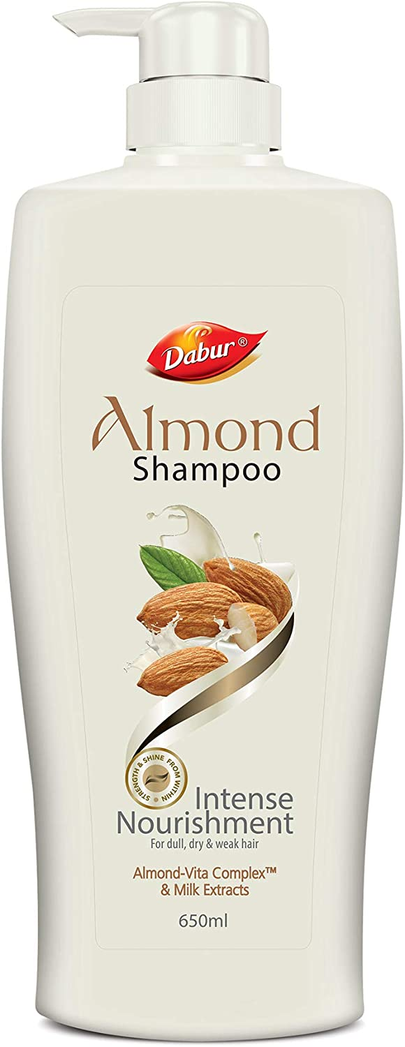 Dabur Almond Shampoo, 650 ml