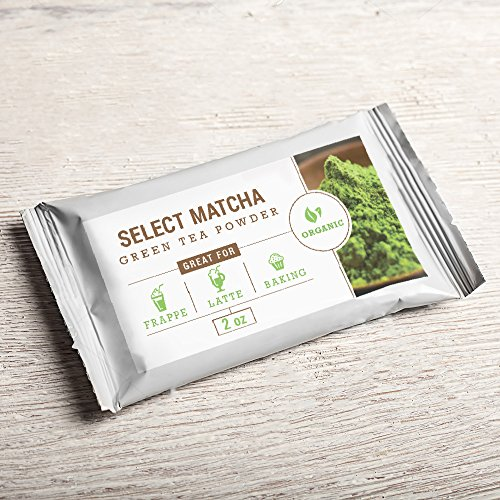 Select Matcha (2oz) Premium Certified Organic, Pure Matcha Green Tea Powder, Improves Mental Focus, Natural Weight Loss Helper, Great - Mass Premium Outlets