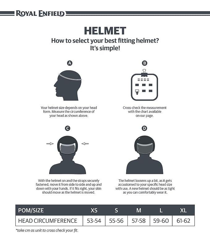684ce1078974 Royal Enfield HEA150002 Open Face Helmet (Matt Black