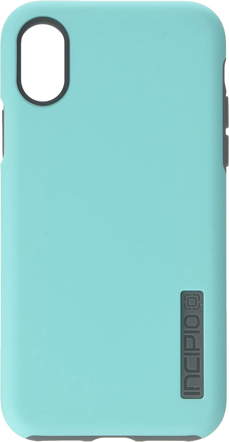 Incipio DualPro Case for iPhone Xs & iPhone X - Turquoise/Charcoal