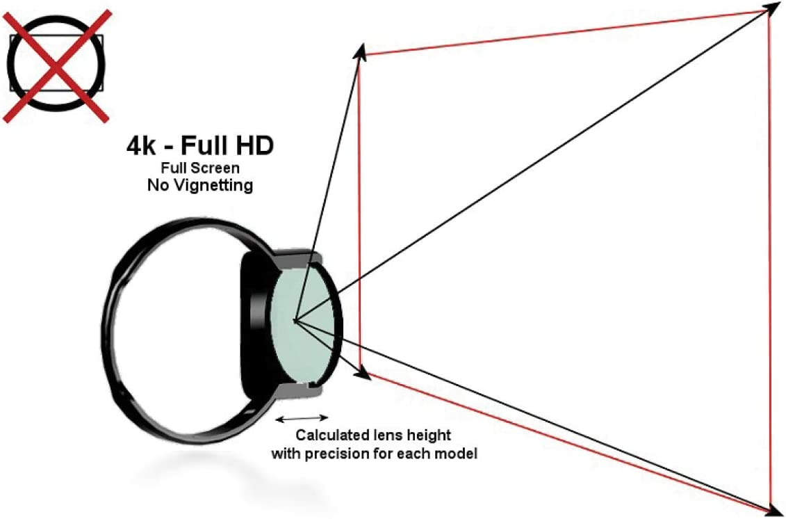 BlackVue CPL Filter for DR900S Front Dash Camera