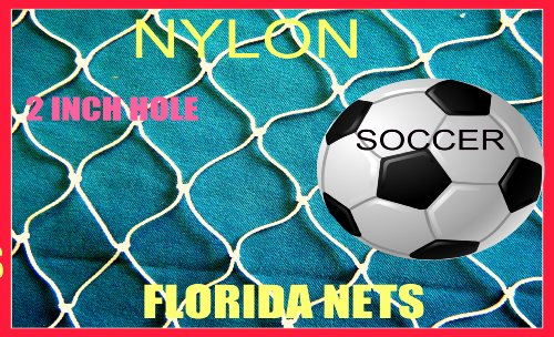 100' X 25' Soccer, Basketball, Softball, Sports, Fishing Net, Netting, Cage, Disc Golf, by Florida Nets