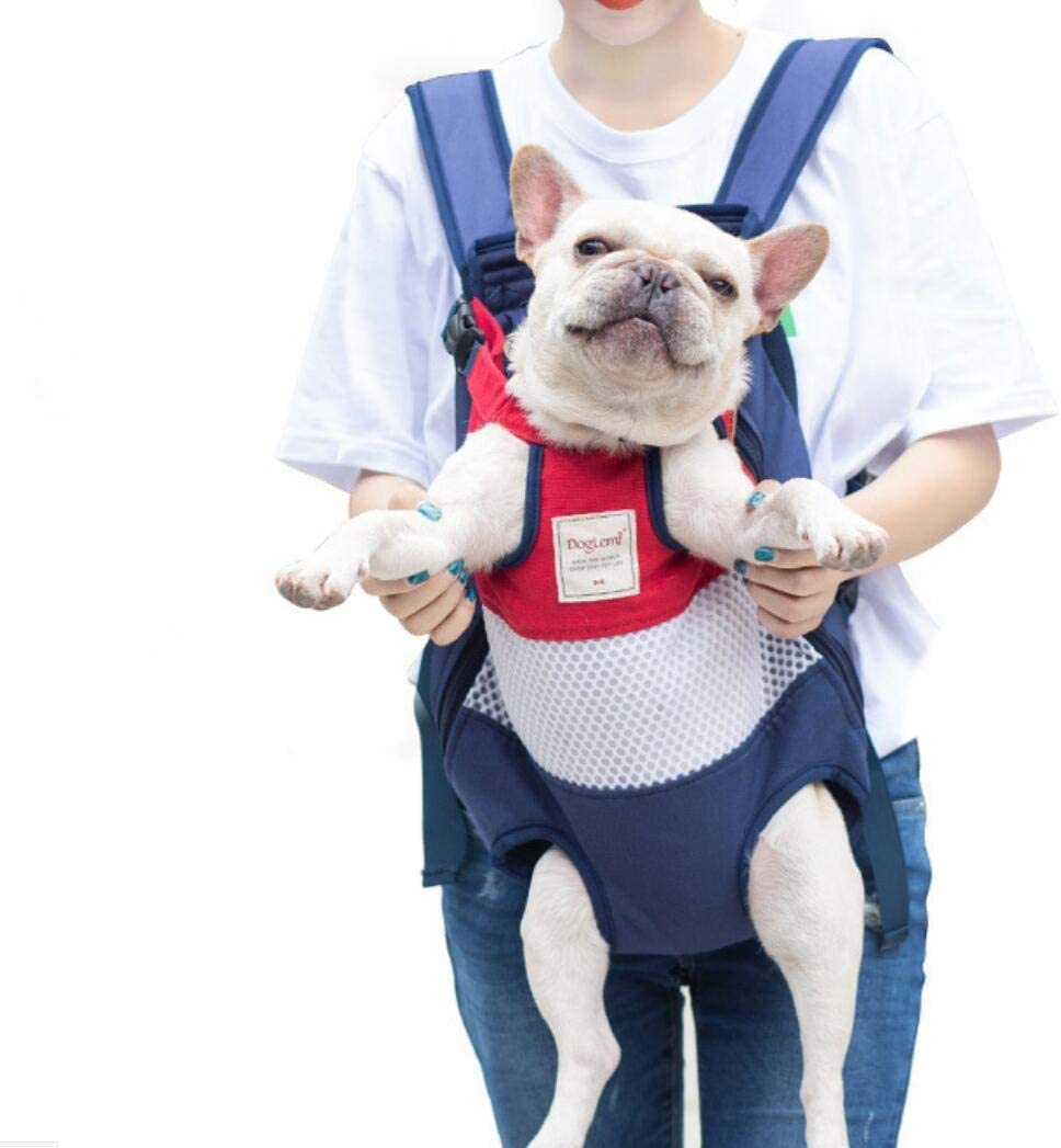 Betrothales Mochila para Mascotas Carrier Head Pags Tail Chic Manos Libres Bolsa De Transporte para Perros para Animales Perros Pequeños Y Medianos Adecuado para Perros Y Gatos De 12 Kg