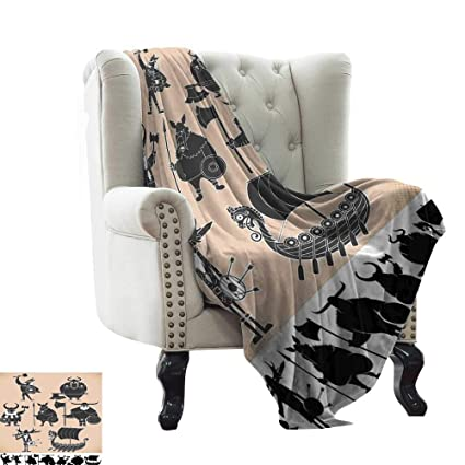 Remarkable Amazon Com Renteriadecor Soft Blanket Twin Size Modern Squirreltailoven Fun Painted Chair Ideas Images Squirreltailovenorg