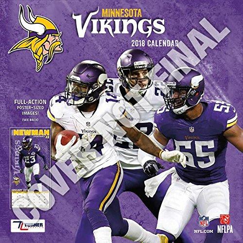 Minnesota Vikings 2019 - Wall Calendar Vikings Minnesota