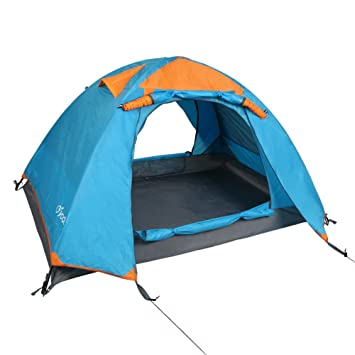 Yodo Upgraded 3-Season 2 Person Waterproof Tent for C&ing Backpacking Double Layers with  sc 1 st  Amazon.com & Amazon.com : Yodo Upgraded 3-Season 2 Person Waterproof Tent for ...