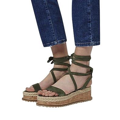 68cd7288031d Universal Bohemia Espadrille Platform Slide Sandals for Women