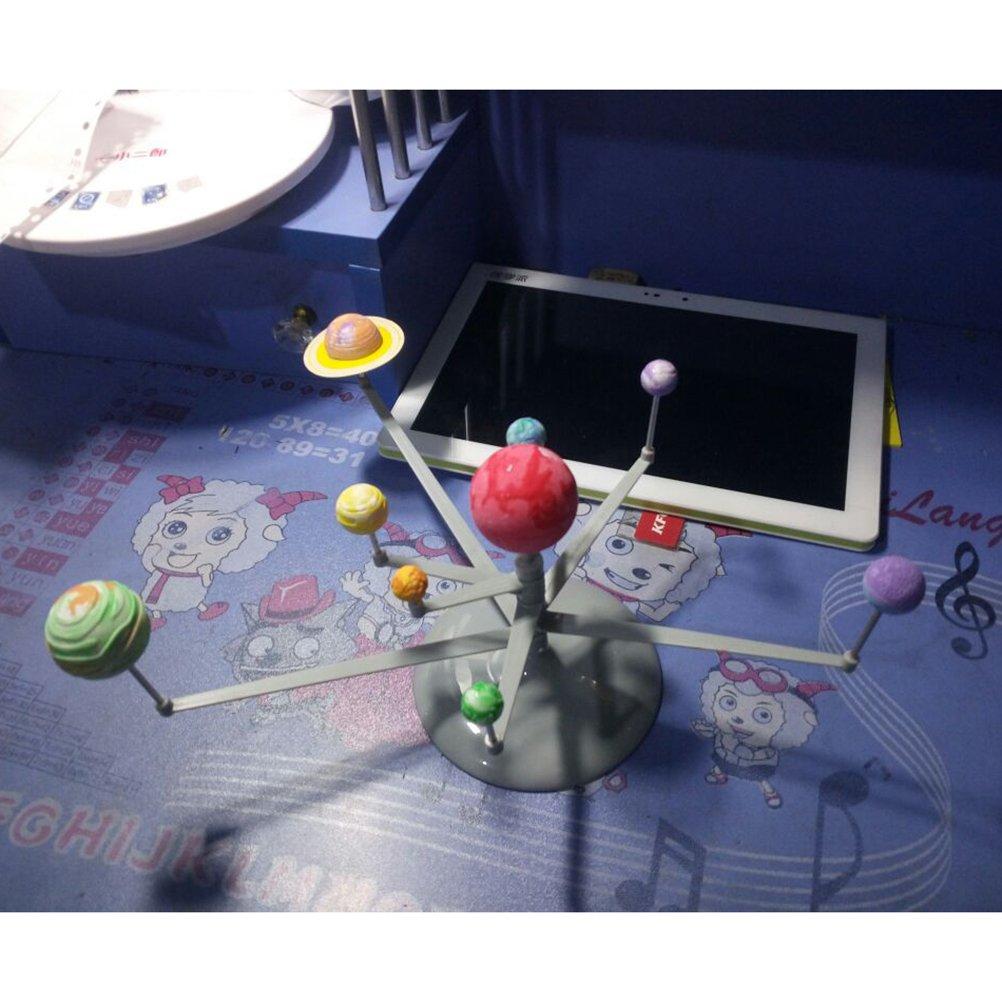 YeahiBaby Planetario Sistema Solare Modello Fai da Te Palla Astronomica Didattico Giocattoli Pittura per Bambini