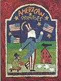 American Primitives PN341 Uncle Sam Flag Punchneedle Punch Needle Embroidery Teresa Kogut Pattern