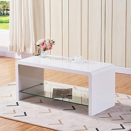 GOLDFAN Mesa de Centro de diseño Moderno y Simple con Mesa ...
