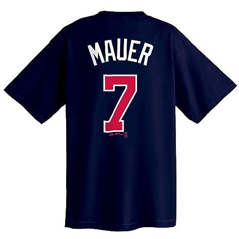 266e6b12 Amazon.com : Joe Mauer Minnesota Twins Name and Number T-Shirt ...