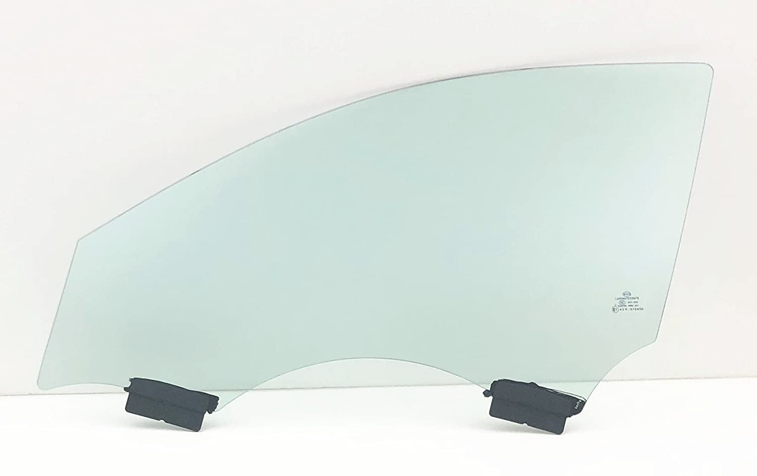 NAGD Compatible with 2001-2006 Hyundai Elantra Sedan and Hatchback Passenger Side Right Front Door Window Glass