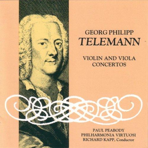 Telemann Violin and Viola Concertos