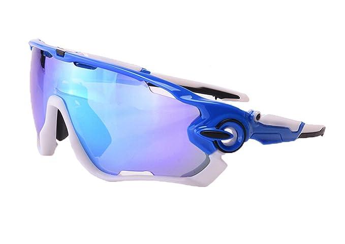 Daesar Gafas de Sol Azul Gafas Protectoras Unisex Antivaho ...