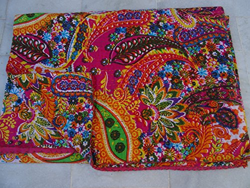 Tribal Asian Textiles Reversible Bedspread product image