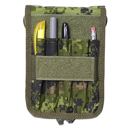 Tactical Notebook Covers Canadian Field Message Pad Cover System CADPAT