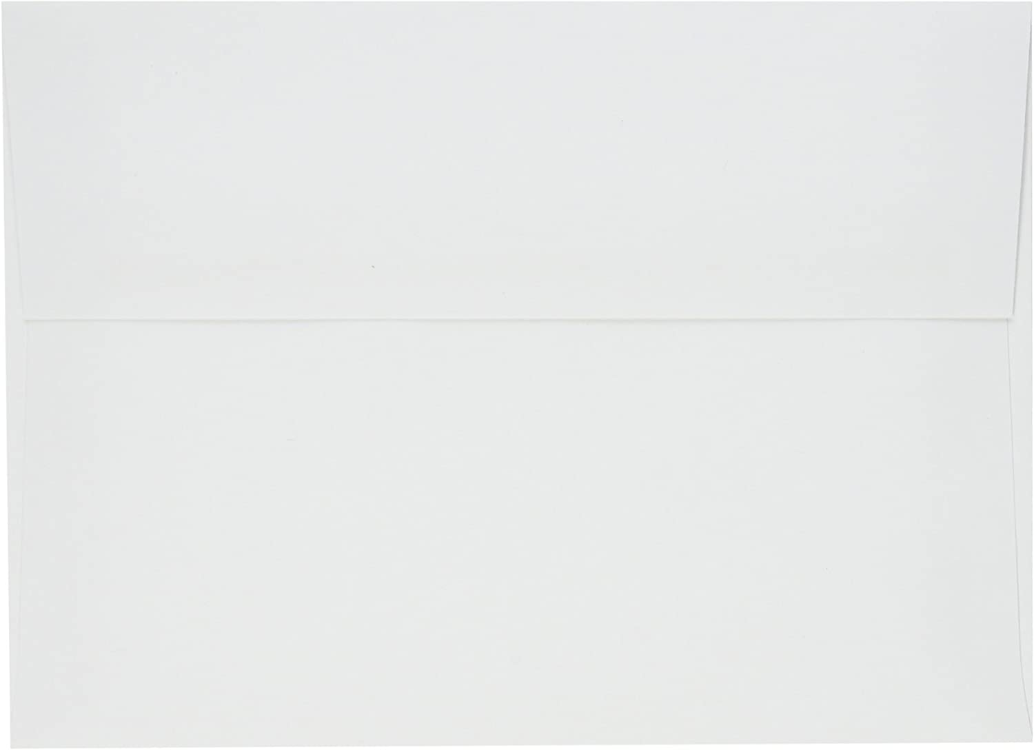 LUXPaper A7 Invitation Envelopes for 5 x 7 Cards in 60lb. White, Printable Envelopes for Invitations, w/Peel and Press Seal, 50 Pack, Envelope Size 5 1/4 x 7 1/4 (White)