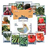 Sustainable Seed 15 Variety Non GMO Heirloom Vegetable - Best Reviews Guide