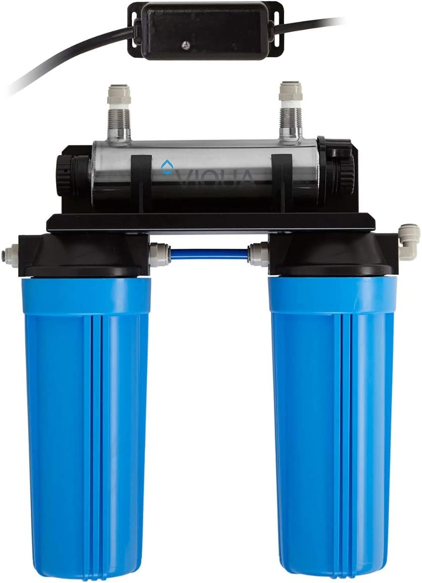 Viqua VT1-DWS Copper Series Home UltraViolet Water Disinfection System with Pre Filtration - 1GPM 120V
