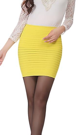 Falda Tubo Corto Elegantes Negocios Minifalda Verano de Regalos ...