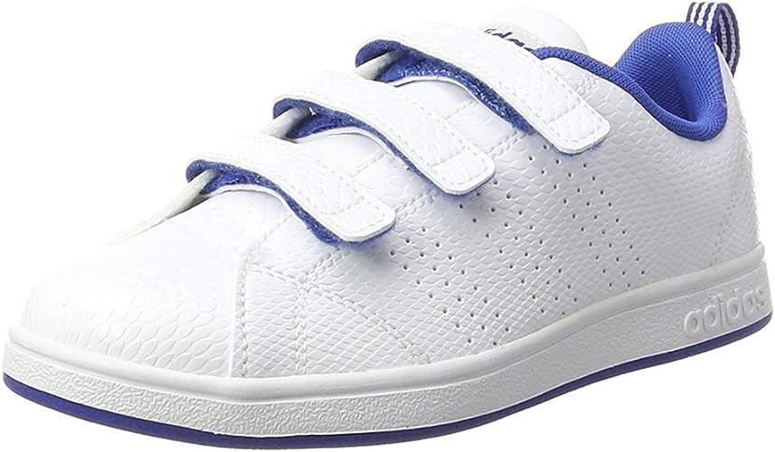 adidas Vs Advantage Clean CMF C, Baskets Mode Mixte Enfant