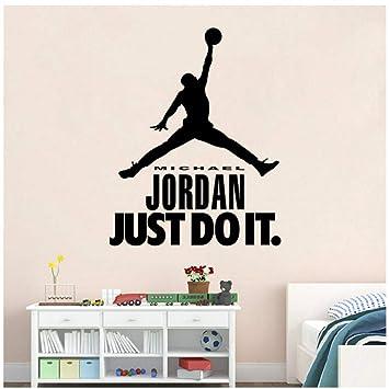 Personajes de baloncesto Jordan acaba de hacer vinilo etiqueta de ...