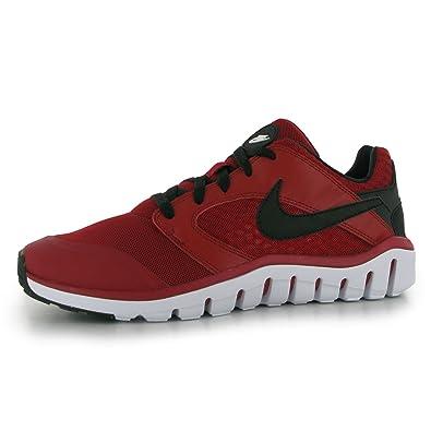 Nike Herren Flex Raid Laufschuhe, Rot/Schwarz/Weiß (Gym Red/Schwarz
