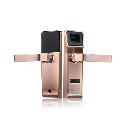 Cerraduras electrónicas de la manija con cerradura biométrica de la huella digital , right