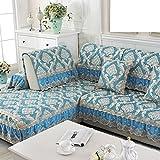 Sofa cushions,fabric european living room non-slip combination sofa cover-B 60x120cm(24x47inch)
