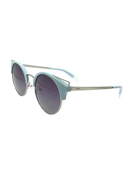 MR WONDERFUL MW 29029 546 52, gafa sol mujer redonda azul ...
