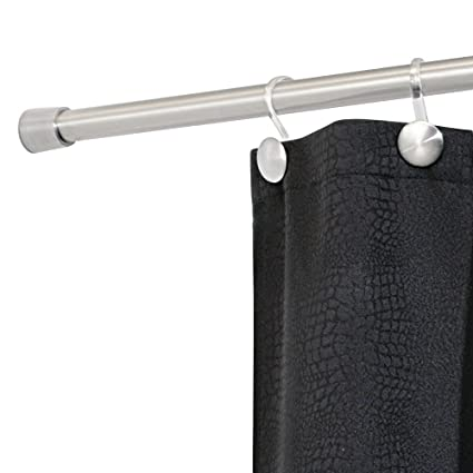 InterDesign Forma Constant Tension Bathroom Shower Curtain Rod