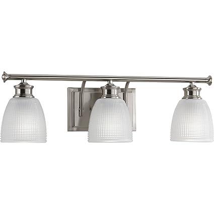 Amazon.com: Progress iluminación p2117 Lucky cuarto de baño ...
