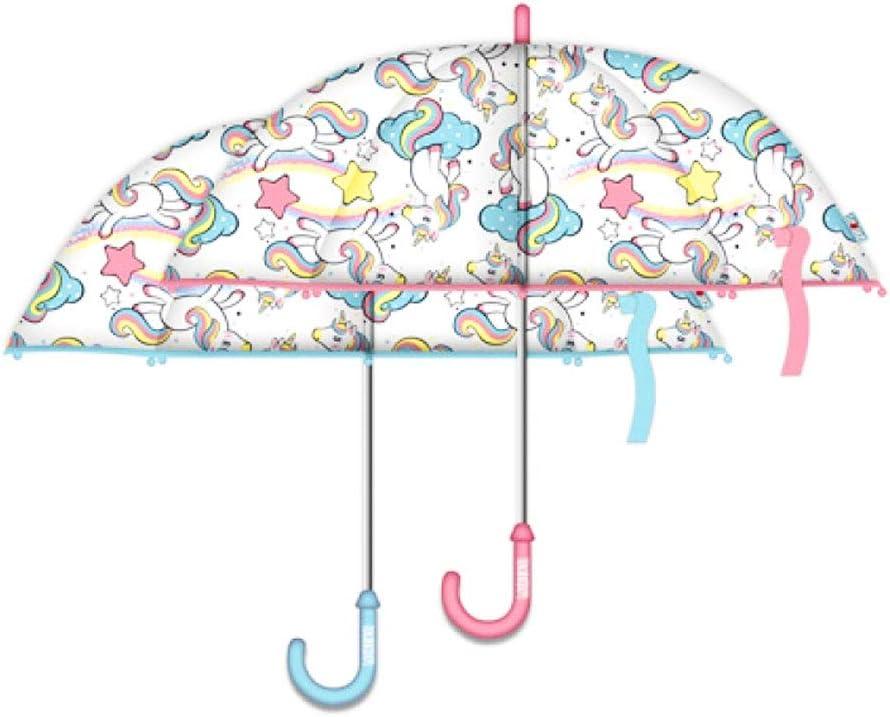 Mod/èle au Hasard Zaska Transparent Automatic Umbrella 58//8 Licorne